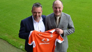 SsangYong Sponsors Luton Town FC