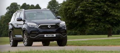 SsangYong Rexton Storms The 4x4 Magazine Awards