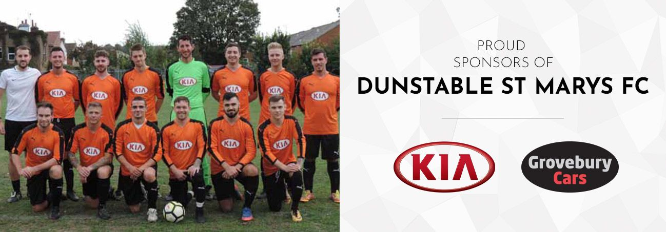 Now Sponsoring Dunstable St Marys FC